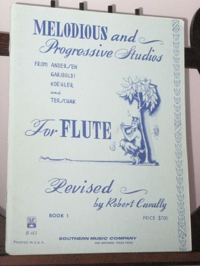 Melodious & Progressive Studies for Flute Book 1